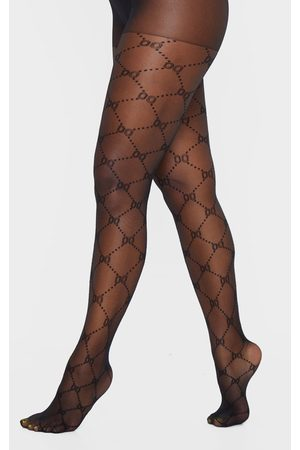 PRETTYLITTLETHING Patterned Tights