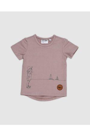 Wild Island Tops - The Sea Spy Tee Babies Kids - T-Shirts & Singlets (Smokey Lilac) The Sea Spy Tee - Babies-Kids