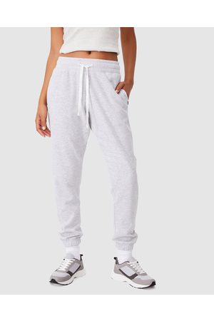 Cotton On Body Active Women Joggers - Lifestyle Gym Trackpants - Sweatpants (Cloudy Marle) Lifestyle Gym Trackpants