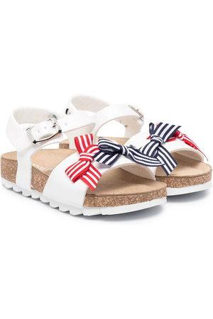 MONNALISA Sailor bow sandals