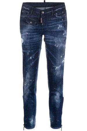 Dsquared2 Women Skinny - Jennifer cropped skinny jeans