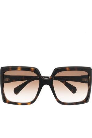 Gucci Women Sunglasses - Square-frame logo plaque sunglasses