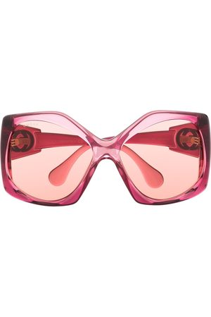 Gucci Women Sunglasses - Angular-frame oversized sunglasses