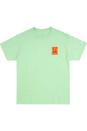 Travis Scott Astroworld Men Short Sleeve - X McDonalds Action Figure T-shirt