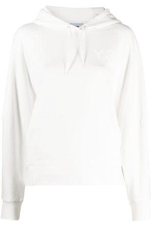 Y-3 Logo-print drawstring hoodie