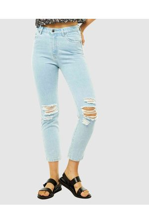 Rusty High Rise Straight Jean - Jeans (SYB) High Rise Straight Jean