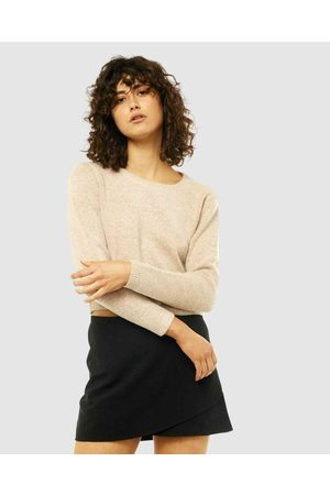 Rusty Together Crew Neck Knit - Jumpers & Cardigans (SAB) Together Crew Neck Knit