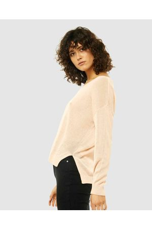 Rusty Surface Vee Neck Knit - Jumpers & Cardigans (PKN) Surface Vee Neck Knit