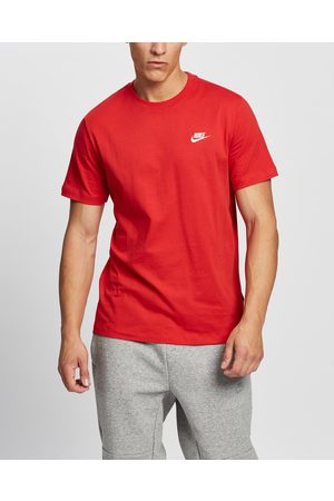Nike Sportswear Club T Shirt Men's - Short Sleeve T-Shirts (University & ) Sportswear Club T-Shirt - Men's