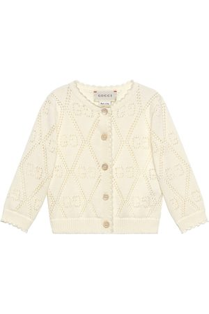 Gucci Baby Cardigans - Baby GG cotton cardigan