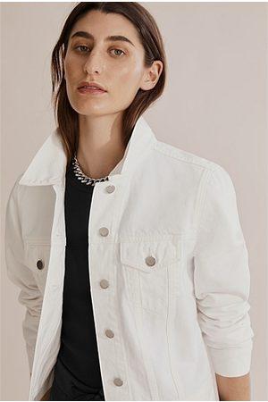 COUNTRY ROAD Women Denim Jackets - Slim Australian Cotton Denim Jacket