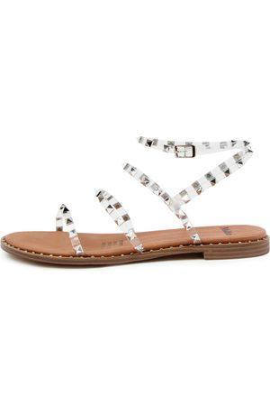 Mollini Layora Mo Clear Sandals Womens Shoes Sandals Flat Sandals