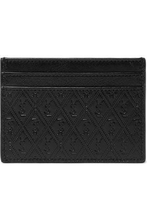 Saint Laurent Men Wallets - Logo-Debossed Leather Cardholder