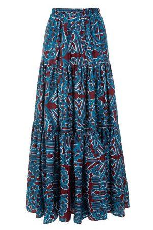La DoubleJ Big Printed Skirt
