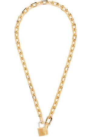 AMBUSH Small-padlock chain necklace
