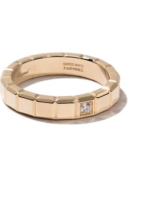 Chopard 18kt yellow Ice Cube diamond ring