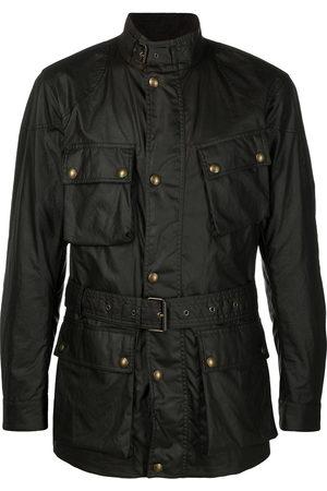 Belstaff Waxed belted jacket