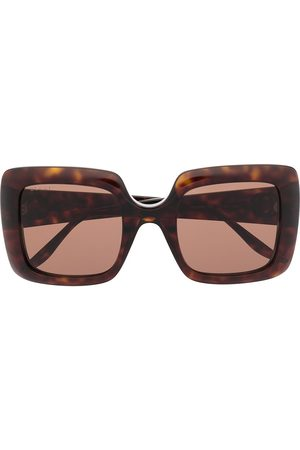 Gucci Women Sunglasses - Interlocking G square-frame sunglasses