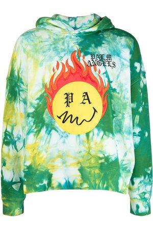 Palm Angels Burning Head tie-dye hoodie