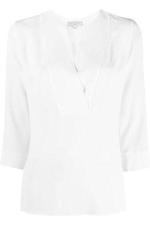 Antonelli Women Blouses - Crepe-chiffon blouse