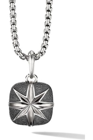 David Yurman Sterling North Star cush pendant enhancer