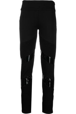 Philipp Plein Iconic biker jogging leggings