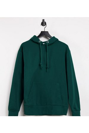 COLLUSION Unisex hoodie in emerald green