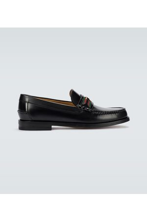 Gucci Interlocking G leather loafers