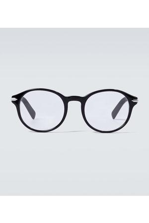 Dior DiorBlacksuitO RI round-framed glasses