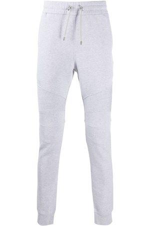 Balmain Logo-print ribbed track pants