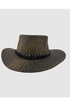 Jacaru 1001P Premium Kangaroo Leather Hat - Hats 1001P Premium Kangaroo Leather Hat