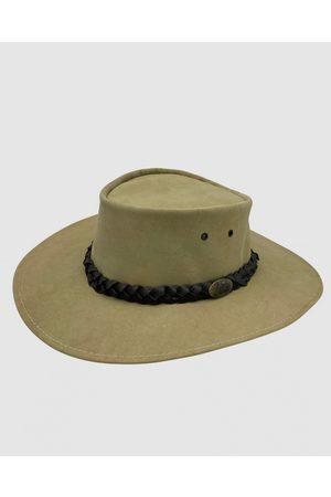 Jacaru 1001P Premium Kangaroo Leather Hat - Hats (Nude) 1001P Premium Kangaroo Leather Hat