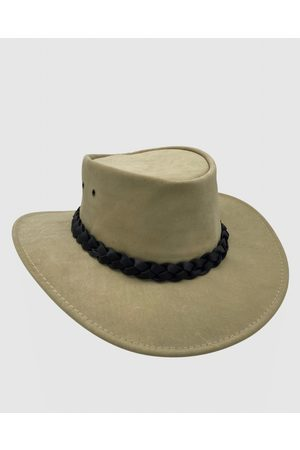 Jacaru 1001 Kangaroo Leather Hat - Hats (Sand) 1001 Kangaroo Leather Hat