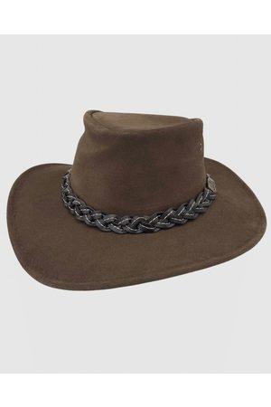 Jacaru 1007 Wallaroo Suede Hat - Hats 1007 Wallaroo Suede Hat