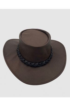 Jacaru 1001 Kangaroo Leather Hat - Hats 1001 Kangaroo Leather Hat