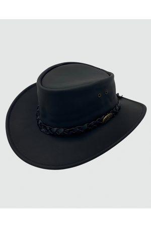 Jacaru 1069 Buffalo Leather Hat - Hats 1069 Buffalo Leather Hat