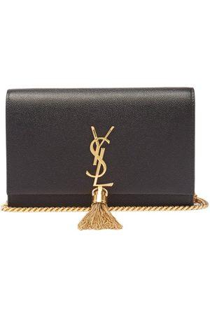 Saint Laurent Grained-leather Briefcase - Mens