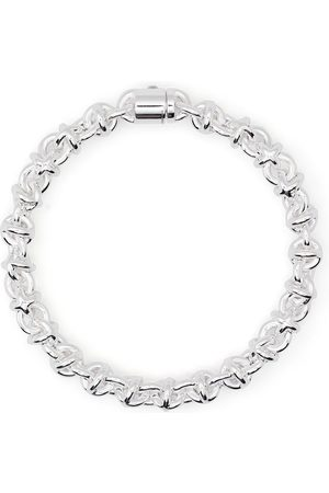 Le Gramme Polished entrelacs bracelet