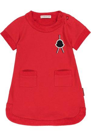 Moncler Baby cotton fleece dress