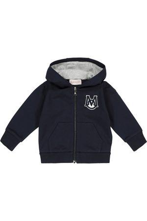 Moncler Logo stretch-cotton jersey hoodie