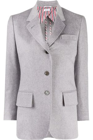 Thom Browne Wide lapel cashmere jacket
