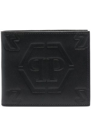 Philipp Plein Embossed logo wallet