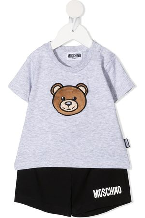 Moschino Teddy Bear-print two-piece set