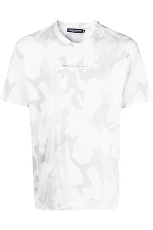 Dolce & Gabbana Logo-patch camouflage T-shirt