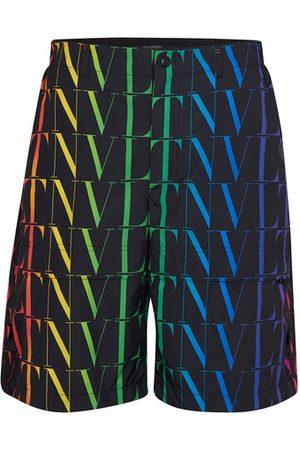 VALENTINO Men Bermudas - VLTN bermuda shorts
