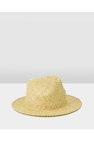 Ford Millinery Hats - Cuba Fedora - Hats (Straw) Cuba Fedora