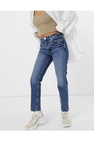 River Island Slim fit jeans in mid auth blue