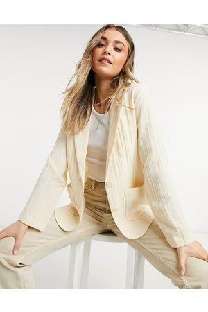 Monki Tavi blazer in beige
