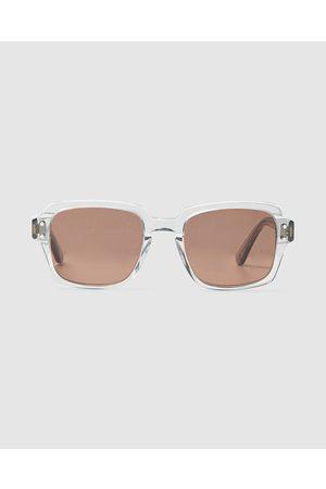 Epokhe Sunglasses - Wilson Smoked Sunglasses Polished Crystal