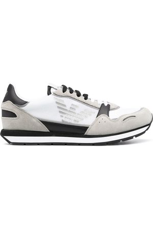 Emporio Armani Panelled low-top sneakers